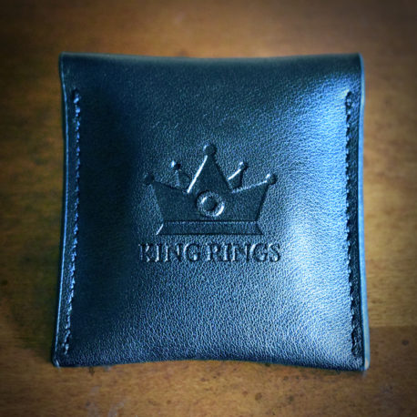 Glans Ring Leather Pouch