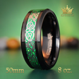 Emerald Dragon Cock Ring