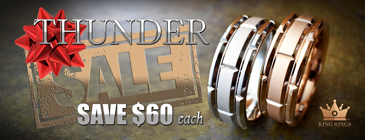 Thunder Cock Ring Holiday Sale