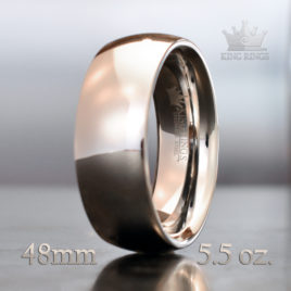 Stainless Steel Dome Cut Cock Ring