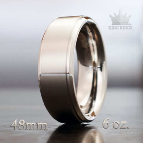 Stainless Steel - Step Cut Cock Ring