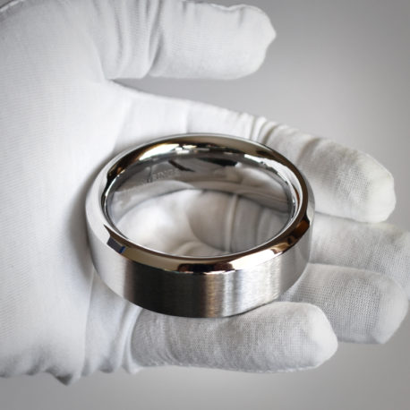 Stainless Steel Bevel Cut Cock Ring